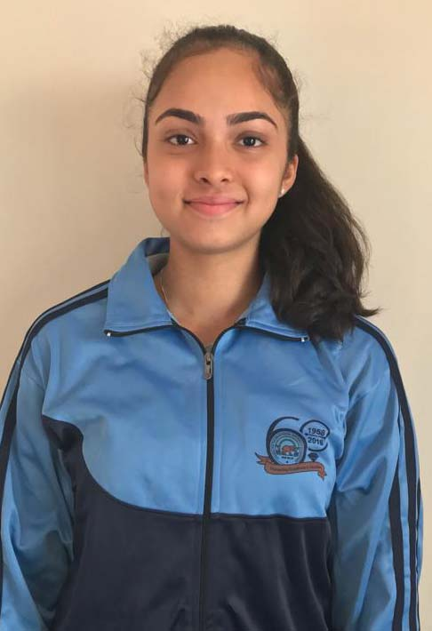 Spoorthy K.C. participated in the School Games Federation National Athletics championship, Delhi  in Girls U-17 category.