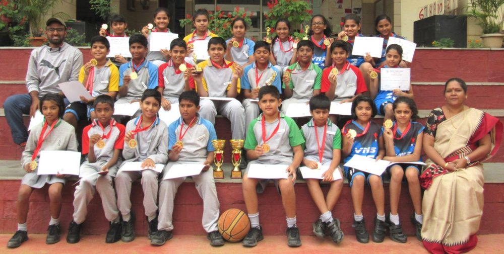 <strong>Basketball</strong> - Winners of DPS North Under-12 Boys &amp; Girls