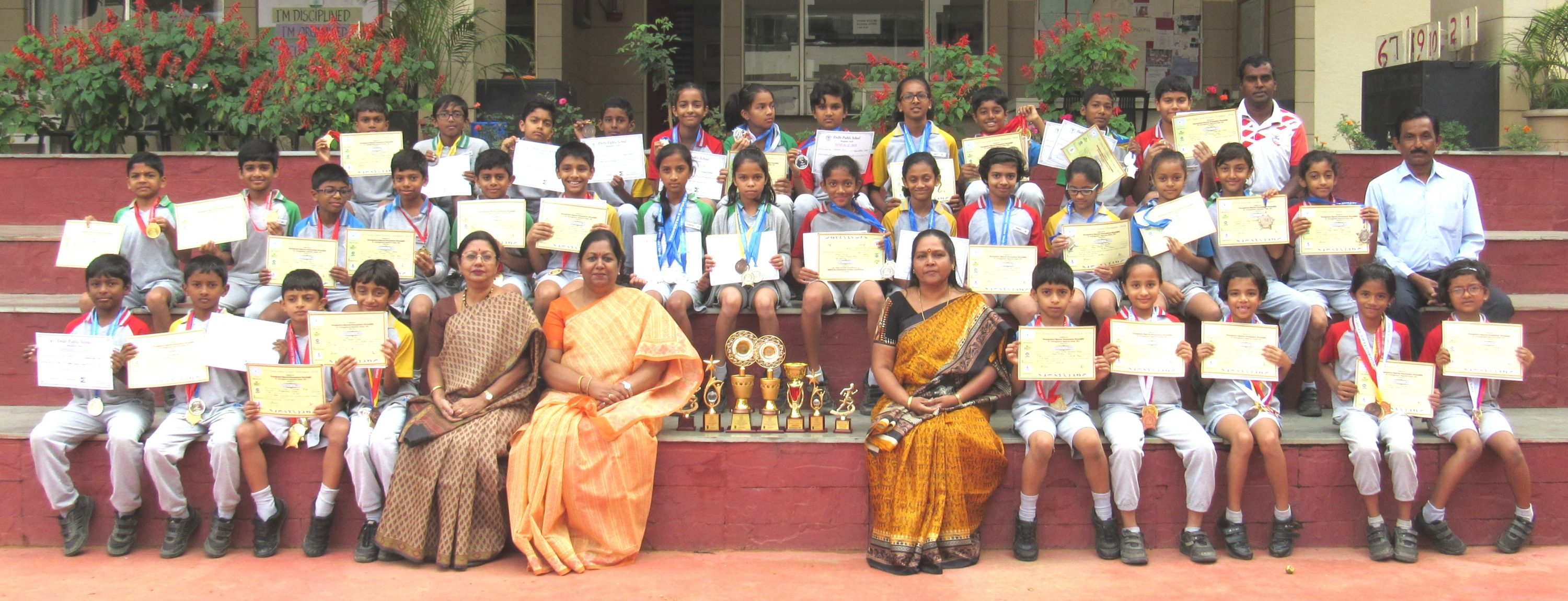 Winners of <strong>Youngsters Sports Club</strong> and DPS-Northheld on 18-8-2018