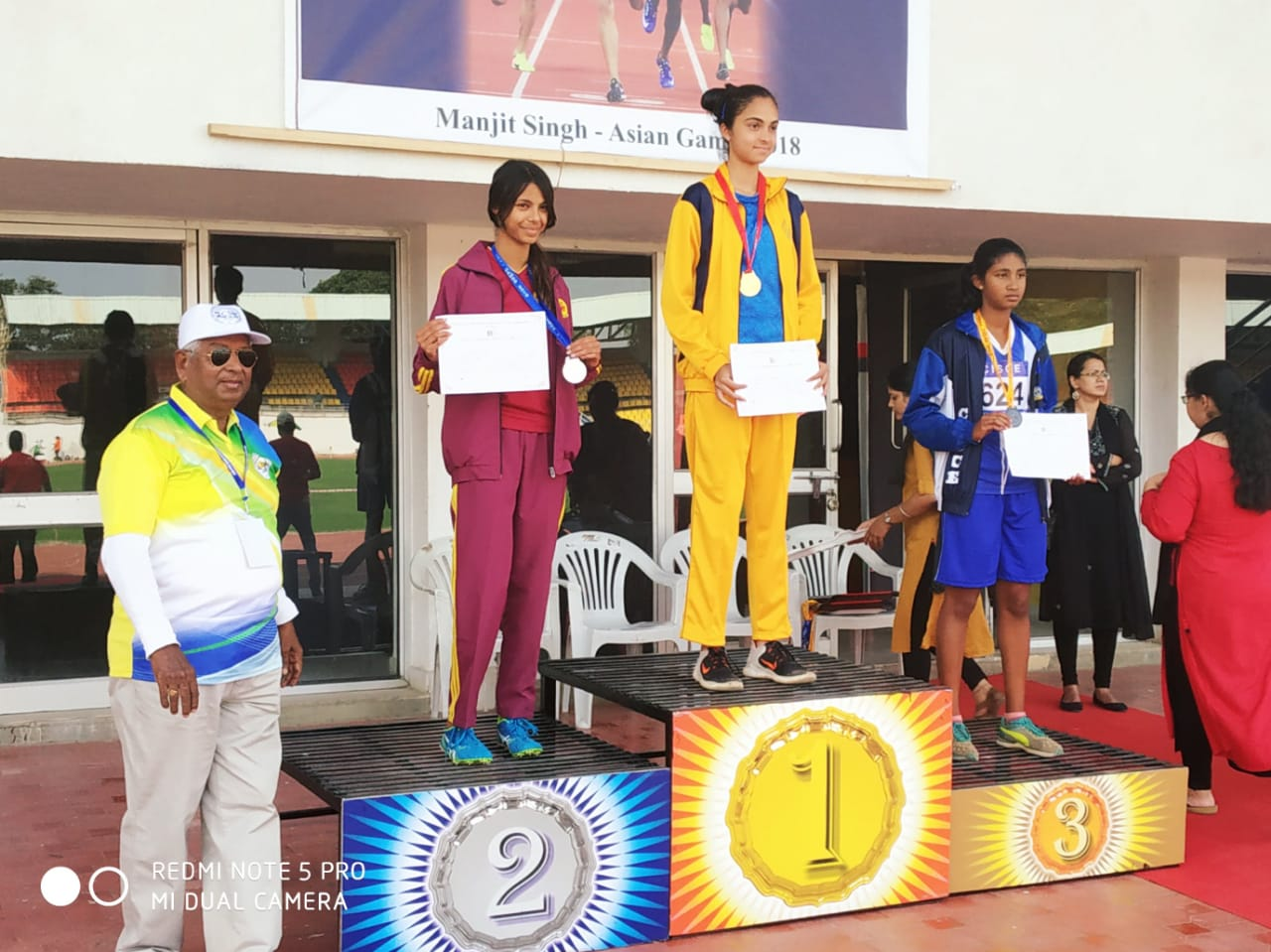 Spoorthy K C - National Gold Medal Winner in High Jump at the CISCE National Athletic Meet, Pune