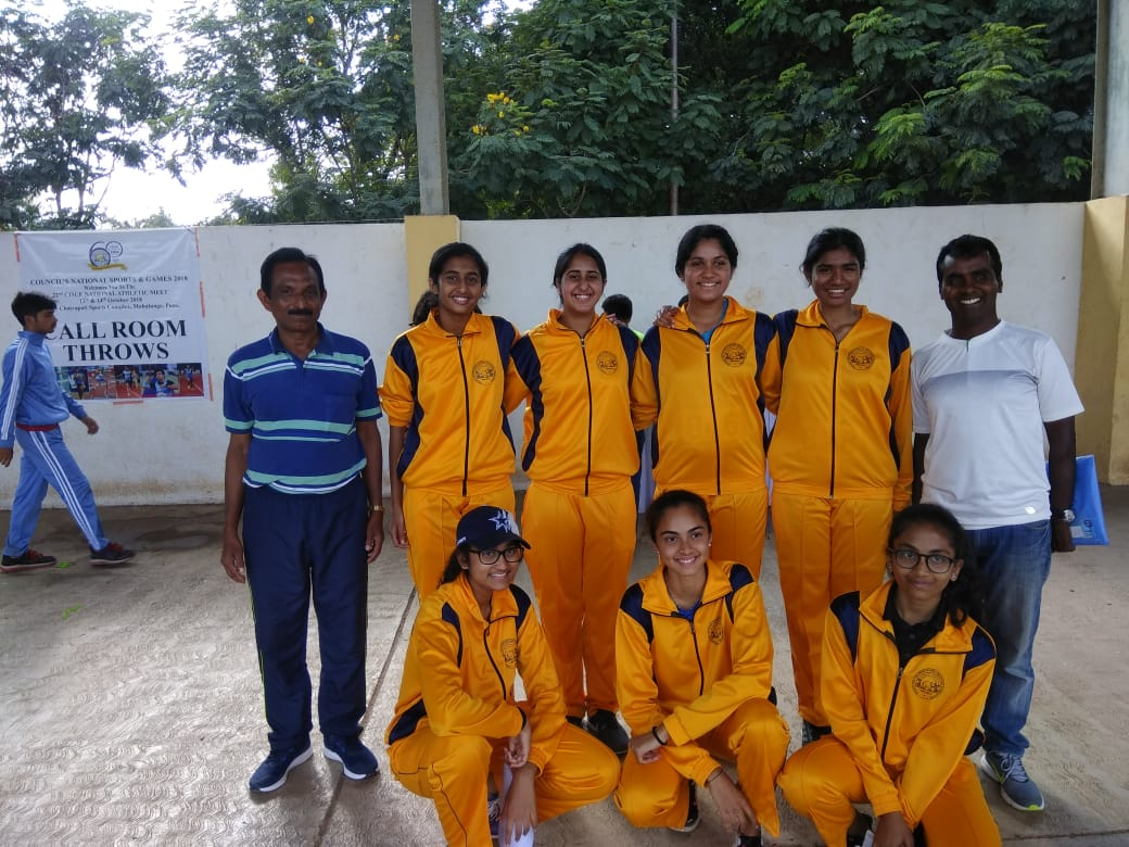 Participants got selected and represented Karnataka at the CISCE National Athletic Meet, Pune.